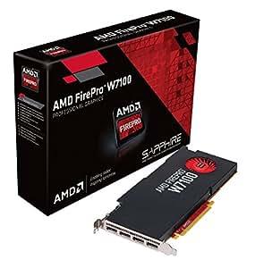 Sapphire - AMD FirePro W7100 - Carte graphique - FirePro W7100 - 8 Go GDDR5 - PCI Express 3.0 x16 - 4 x DisplayPort - Pour la vente au détail