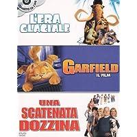 L'era glaciale + Garfield - Il film + Una scatenata dozzina