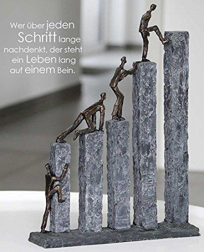 "Casablanca - Skulptur, Figur, Dekofigur - ""Raise"" - wunderschöne Figur"