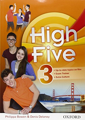High five. student's book-workbook-exam trainer. per la scuola media.  con e-book. con espansione online: high five. student's ... con ... con open book. con  [lingua inglese]: 3