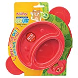 Best Nuby tout-petits jouets - Nuby UK adhérence Miracle Section plate, couleurs assorties Review