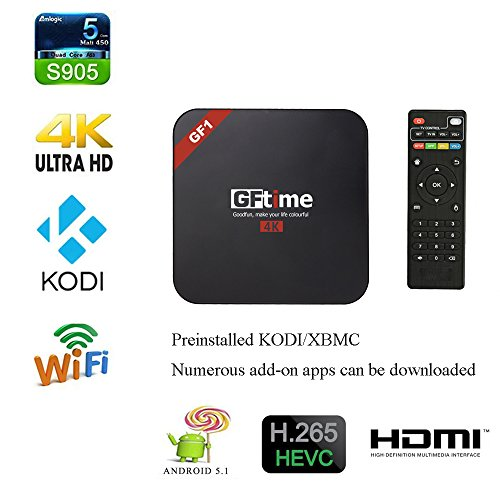 GFtime MXQ PRO Android TV Box with Wireless Keyboard XBMC