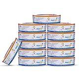 ChoiceRefill Sac pour Poubelle a Couches Angelcare Lot de 12 pour 10-16 Mois Recharge Poubelle Anti-odeurs compatible avec la Poubelle Angelcare PAIL, STEP, Complet etc