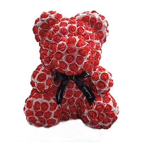 CPFYZH 40Cm Rose Bear Cinta Peluche Juguete Artificial