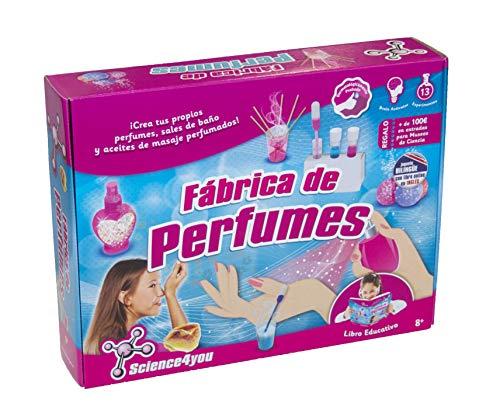 Science4You-398467 Fabrica De Perfumes Juguete Científico Y Educativo (398467