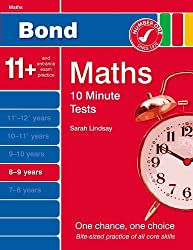 New Bond 10 Minute Tests Maths 8-9 Years