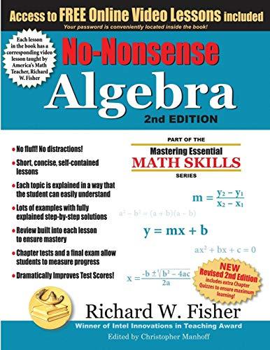 Download Pdf No Nonsense Algebra 2nd Edition Part Of The