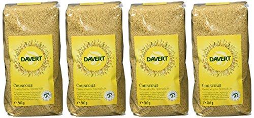 Davert Couscous, 4er Pack (4 x 500 g) - Bio
