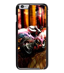 PrintDhaba Bike D-5059 Back Case Cover for APPLE IPHONE 6 (Multi-Coloured)