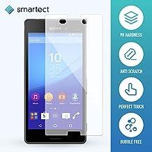 SmarTect® Sony Xperia M4 Aqua Protector Cristal Templado | Premium Protector de Pantalla | Gorilla glass con grado de dureza 9H | Lámina blindada - cristal protector de calidad contra rasguños
