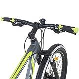 Galano 650B+ 27,5+ Zoll MTB INFINITY Mountainbike Scheibenbremsen Shimano 27,5x3.0 Fatbike, Farbe:grau/grün Test