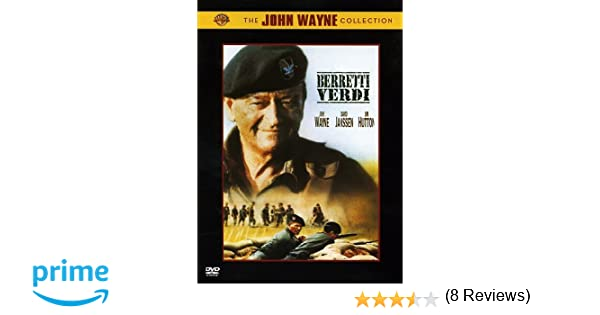 Berretti verdi (edizione deluxe)  Amazon.it  vari  Film e TV 13d2f685c0aa