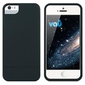vau Snap Case Slider - matte black - zweigeteiltes Hard-Case für Apple iPhone 5(s) & iPhone SE