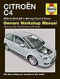 Citroen C4 Petrol & Diesel (04  10) Haynes Repair Manual (Haynes Service and Repair Manuals)