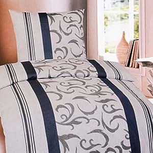 Set di 2 pezzi biancheria da letto in castorino parure - Amazon biancheria letto ...