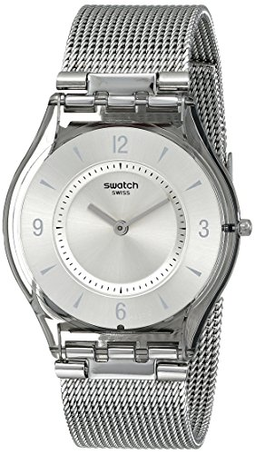 swatch-damen-armbanduhr-xs-metal-knit-analog-quarz-edelstahl-sfm118m