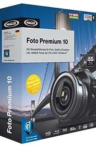 MAGIX Foto Premium 10 (Sonderedition): Fotos auf CD & DVD 10 Deluxe + Foto & Grafik Designer 6