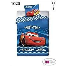 2 tlg Kinderbettwäsche 100x135 40x60 Disney 1020 Cars