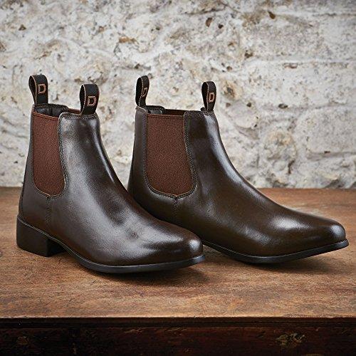 fondazione stivali da equitazione–nero Brown