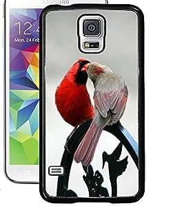 ColourCraft Love Birds Design Back Case Cover for SAMSUNG GALAXY S5 NEO
