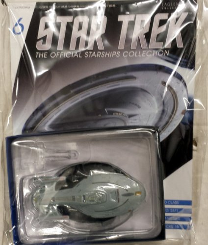 Official Star Trek Starships Die-Cast Collection #6 U.S.S. Voyager NCC-74656