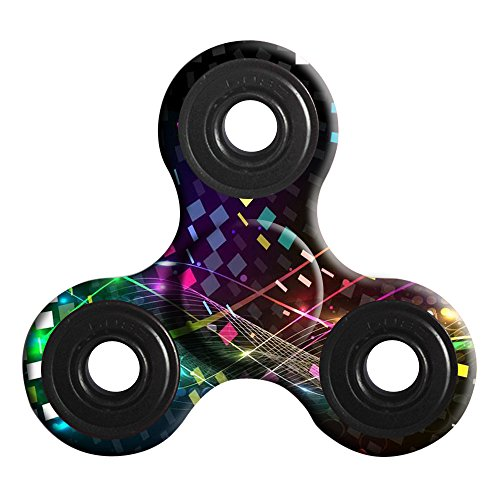 Preisvergleich Produktbild Fidget Hand Spinner Tri Fidget Spinner Gyro Spielzeug Ball Schreibtisch Spielzeug EDC Stress Reducer Kinder Erwachsene Geschenk (B)