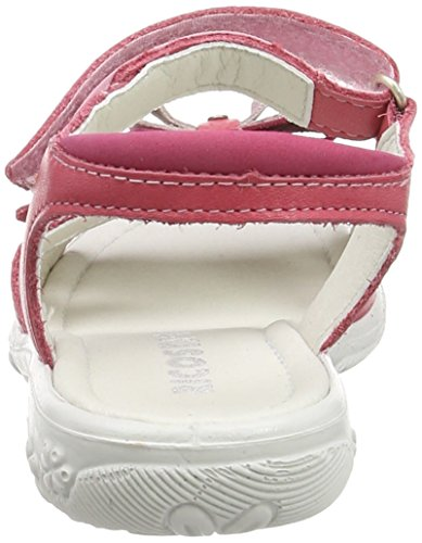 Ricosta Peggy, Sandales fille Rose - Pink (Bubble 347)