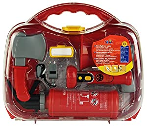 Theo Klein Firefighter case - juguetes de rol para niños (Niño, Transparente)