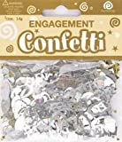 Happy Engagement Confetti Table Decoration