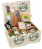Präsentkorb Eifel auf´s Brot Geschenkkorb mit deftigen hochwertigen Eifel Lebensmittel