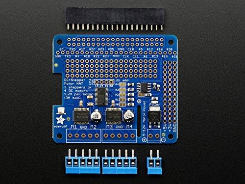 Adafruit Schrittmotor HAT für Raspberry Pi (A+/B+/2) - Bausatz