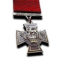 Medalla Militar Cruz Victoria La Mayor Decoración Militar Para Valor Nuevo Copia Rara