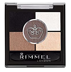 Rimmel London Glameyes HD 5 Pan Shadow, Foggy Grey, 0.19 Ounce