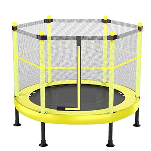 Wq zxc Kindertrampolin Mit Schutznetz Trampolin Adult Fitness Sprungbett Klappbares Bungee-Bett Bett Indoor Trampolin Aerobic Bouncing Sport Fitness Jumper,48inchwebbingversion