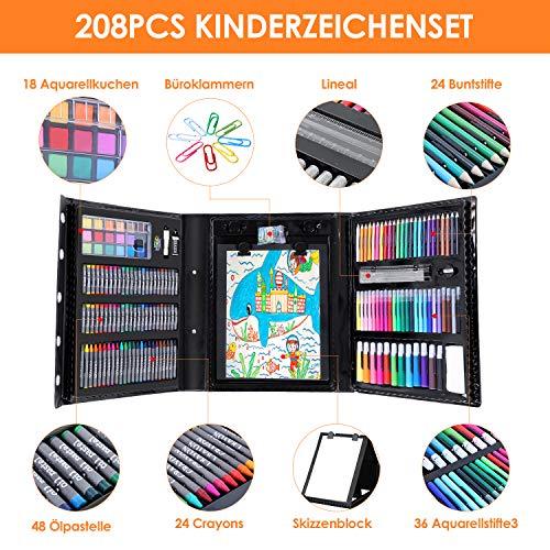 Zoom IMG-1 pedy colori valigetta 208 pezzi