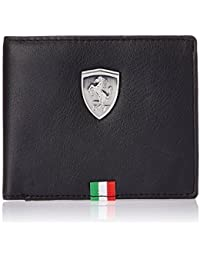 Puma Ferrari Men's Wallet Comfortable For All(By Anjali Creation)-Black