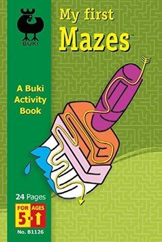 Buki My First Mazes Activity Book