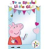 Peppa Pig–para un especial de niña Tarjeta de felicitación de cumpleaños