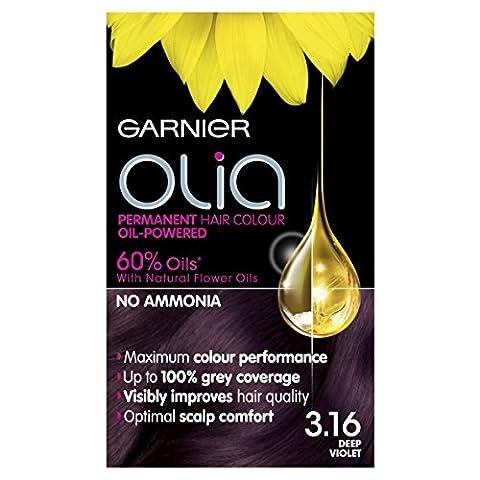 Garnier Olia Permanent Hair Colour Deep Violet -