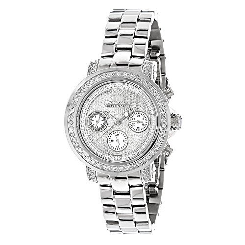 Iced Out Diamond Watches For Women 2ct LUXURMAN Montana Diamond Watch