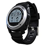 Anmeldung Smartwatch Sport Armbanduhr Elektronische sq928a Armbanduhr Display Halterung, Smart Watch Android Herren Tragen Fitness–Schwarz Kann als Schrittzähler, Bluetooth-Uhr Wasserdicht