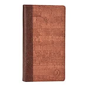 Jo Jo Bark Series Cover Leather Pouch Flip Case For ZTE Blade D Lux Light Brown