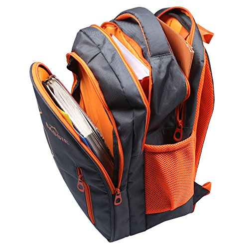 Sassie Grey Polyester 41 Ltr School Backpack Image 2