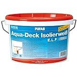 Pufas Aqua-Deck Isolierweiß E.L.F. 2,5L Isolierfarbe