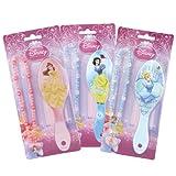 Disney Princess Kinder Haarbürste Bürste mit Kette verschiedene Motive - die Auswahl erfolgt zufällig - sie erhalten 1 der hier abgebildeten Bürsten