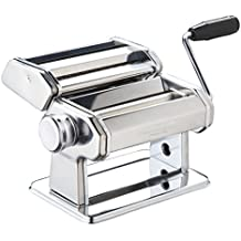 Kitchencraft Italian Maquina Cortadora de Pasta, Acero, Plateado, 22x22x14.2 cm