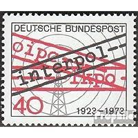 RFA (FR.Allemagne) 759 (complète.Edition.) 1973 interpol (Timbres pour les collectionneurs)