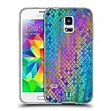 Head Case Designs Ölschlick Meerjungfrau Waage 2 Soft Gel Hülle für Samsung Galaxy S5 Mini