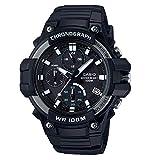 CASIO COLLECTION Herren Analog Quarz Uhr mit Harz Armband MCW-110H-1AVEF