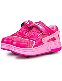 Zapato light-up LED Dos Ruedas Patines Los Niños y Niñas Heelys Calzado Deportivo